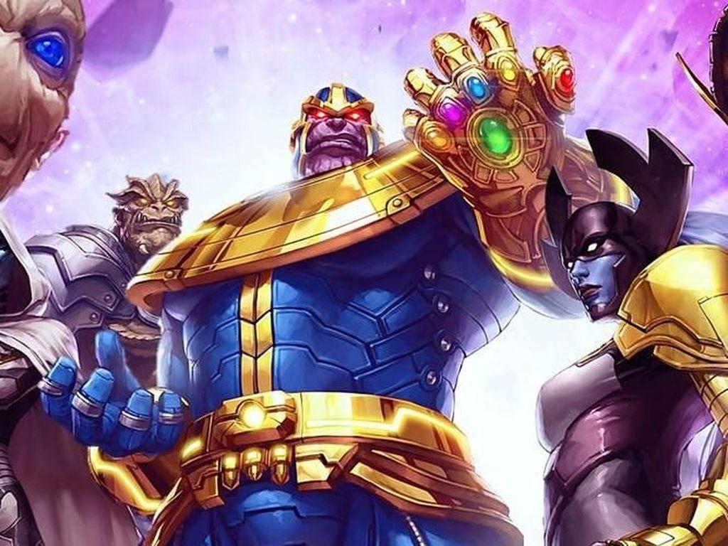 5 Komik Thanos yang Bisa Dibaca Setelah Nonton Infinity War