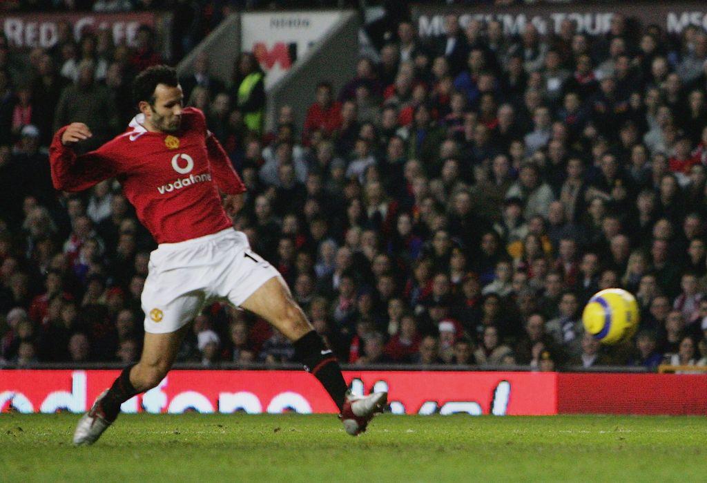 Ryan Giggs kala masih berseragam Manchester United
