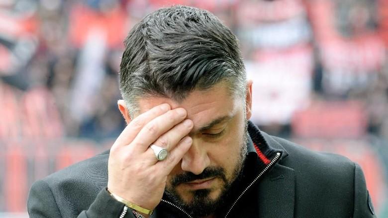 Gattuso Dikabarkan Jadi Pelatih dengan Gaji Terkecil di Serie A