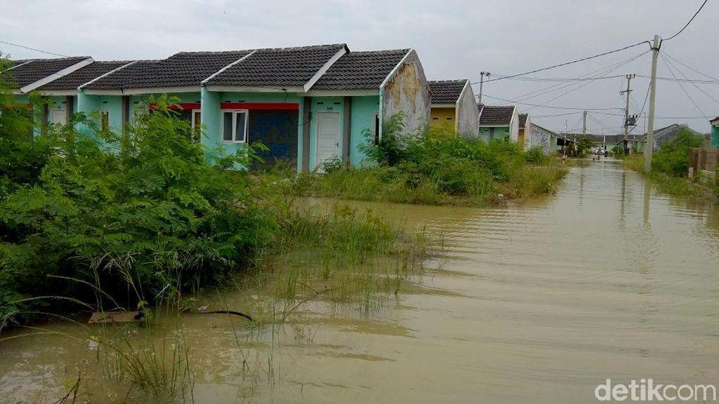 Foto: Perumahan Dp 1% Jokowi yang Terendam Banjir