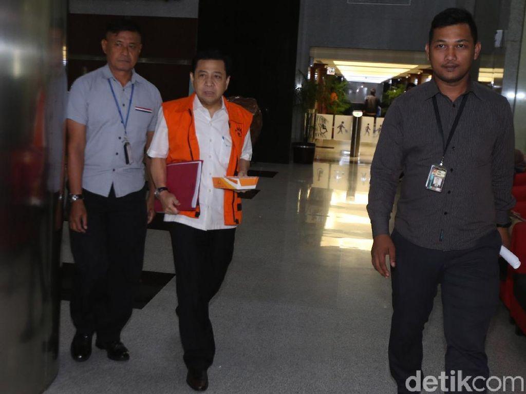 Novanto Enggan Tanggapi Pidato SBY