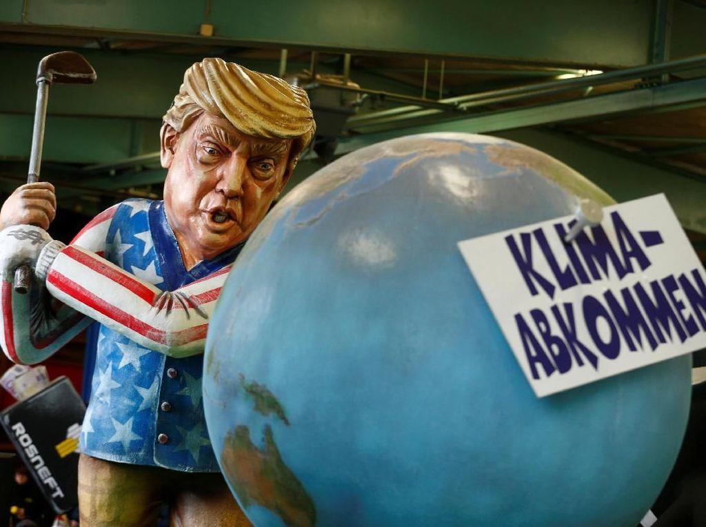 Saat Trump hingga Kim Jong Un Berubah Jadi Karikatur