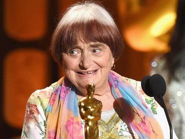 Agnes sendiri merupakan salah satu tokoh di dunia perfilman Perancis dan mendapat Oscar pada tahun lalu untuk Honorary Award. Kevin Winter/Getty Images.