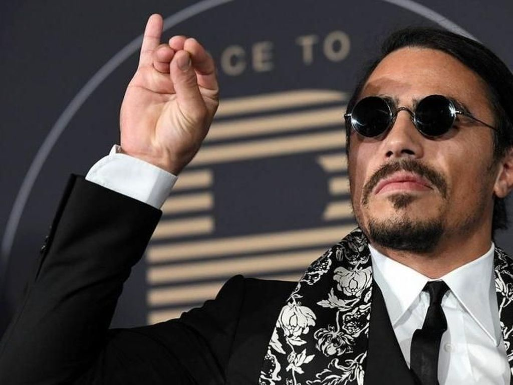 Salt Bae Akan Buka Restoran Burger di New York City