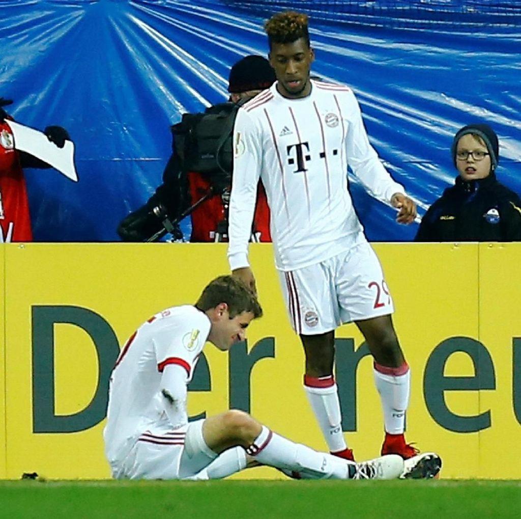 Cedera Mueller Warnai Kemenangan Bayern