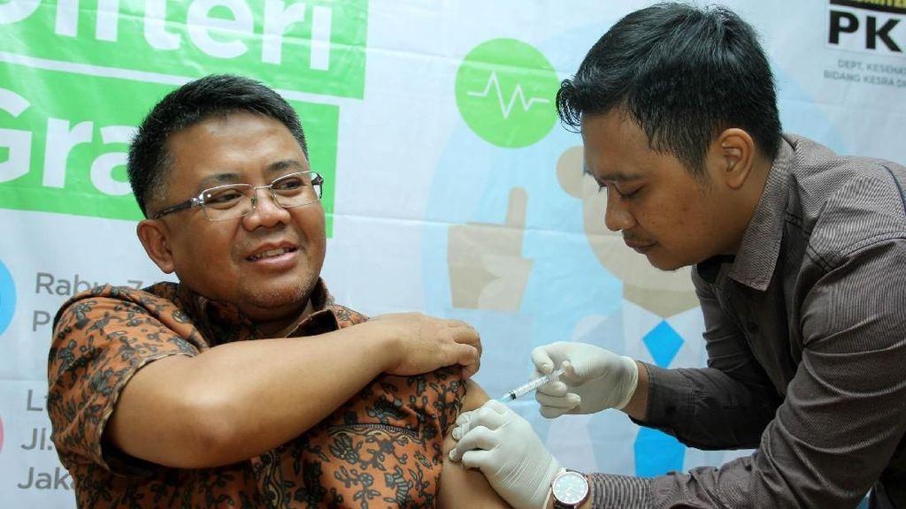 PKS Gelar Vaksin Difteri