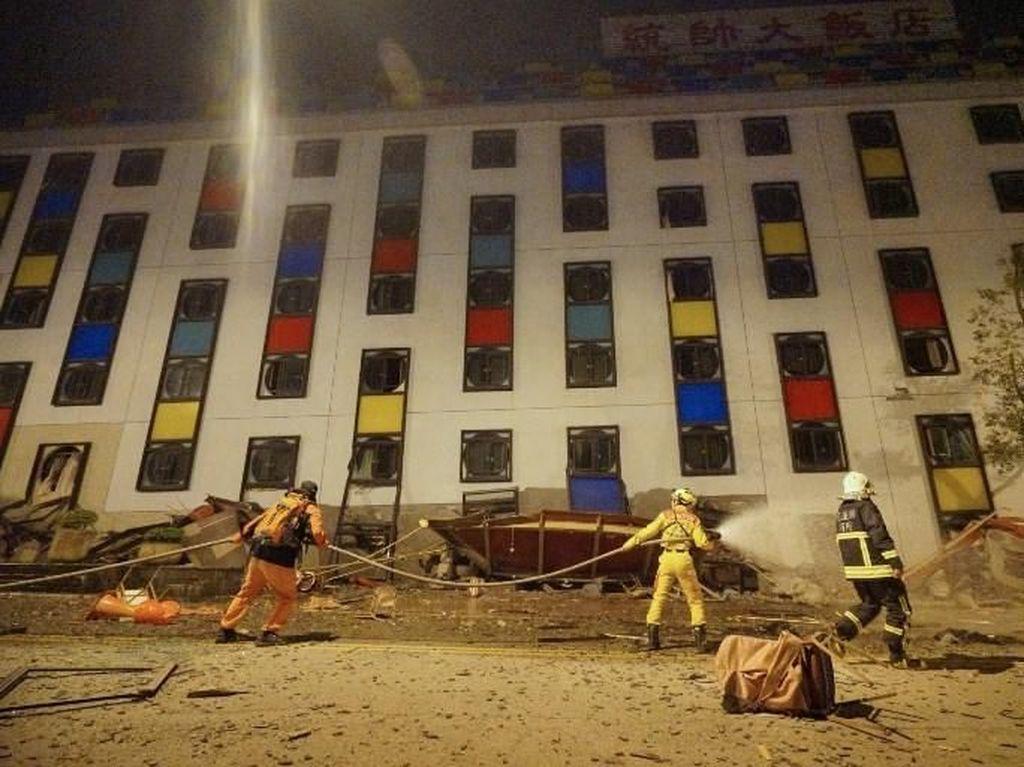 Gempa 6,4 SR di Taiwan, 2 Orang Tewas dan 114 Luka-luka