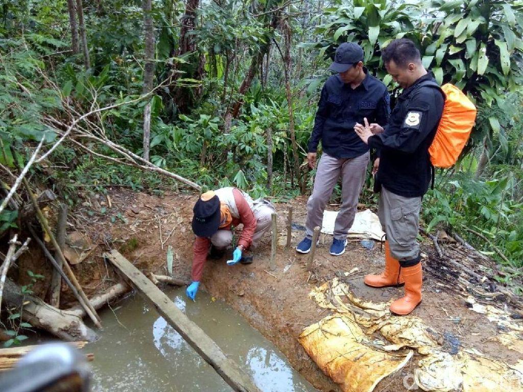 Ini Tiga Lokasi Sumber Limbah Merkuri di Sukabumi