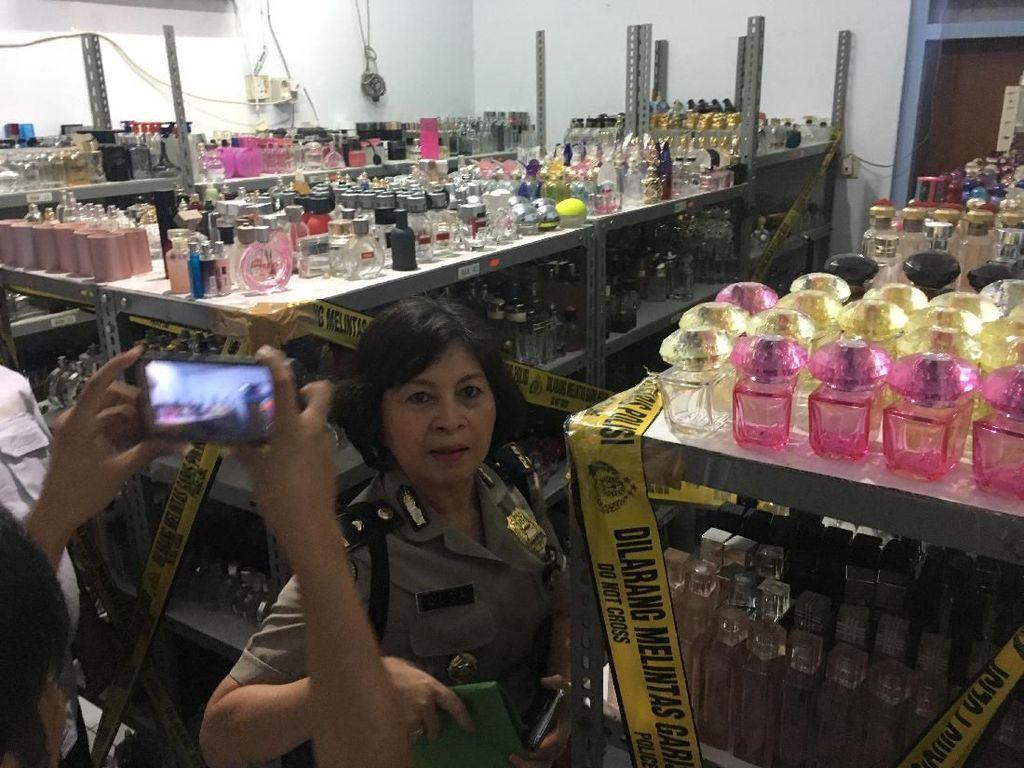 Parfum KW yang Diproduksi di Tamansari Dijual di Toko Online