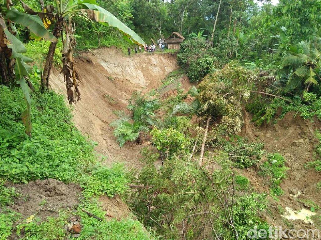 Ini Kata BPBD Kulon Progo Soal Tanah Ambles di Kalibawang