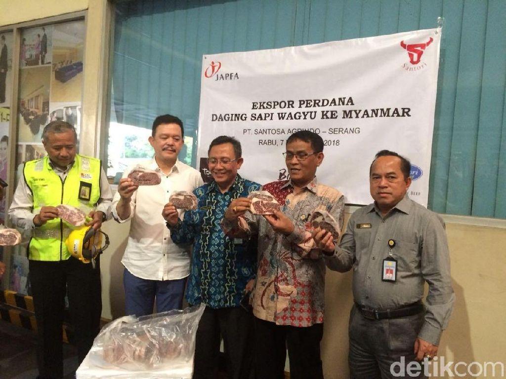 Perdana, RI Ekspor Daging Wagyu ke Myanmar