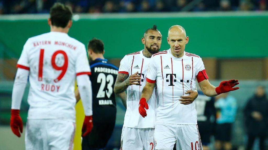 Pesta Setengah Lusin Gol Bayern Munich