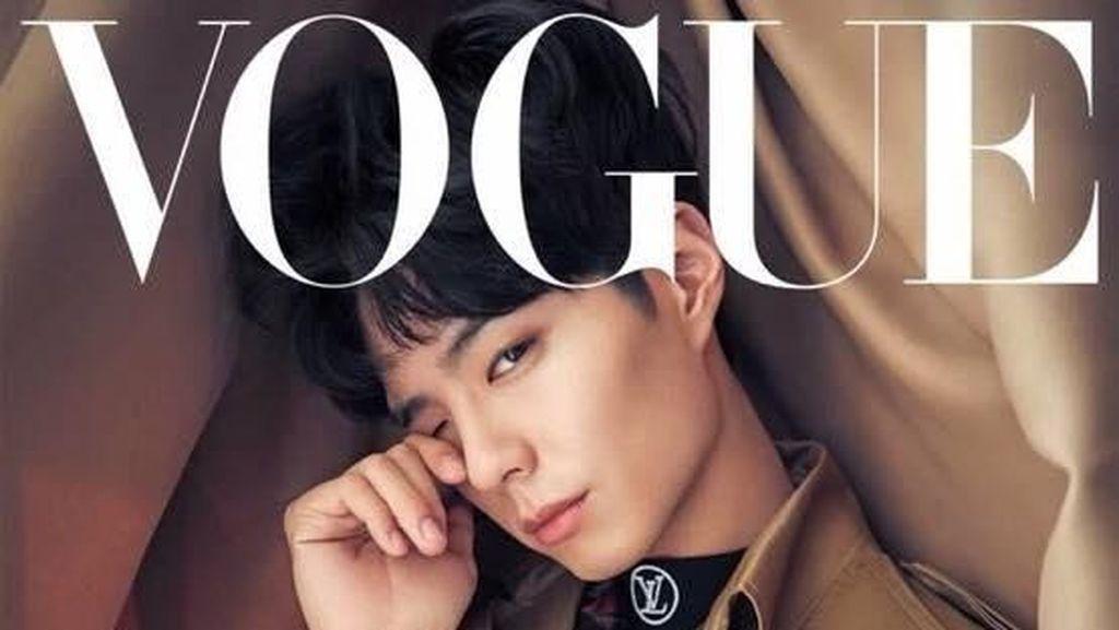 Ganteng & Imut, Inilah Penampilan Terbaru Park Bo Gum di Majalah Vogue