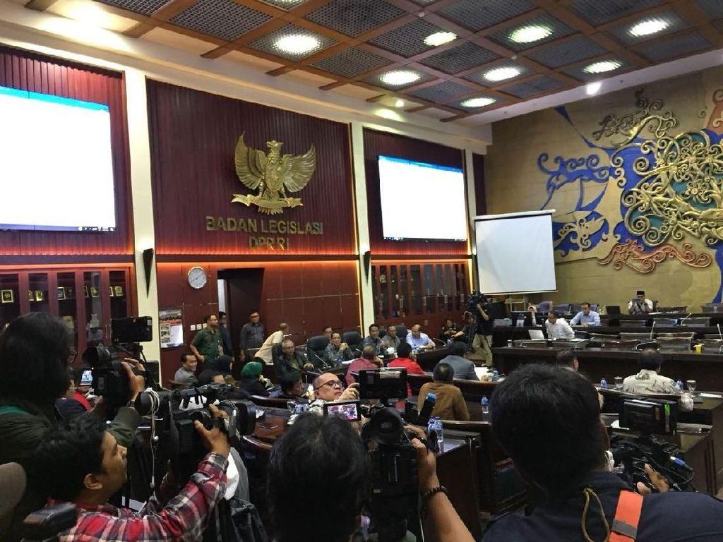 Rapat Revisi UU MD3 Sepakati Pimpinan DPR Jadi 6, MPR Jadi 8