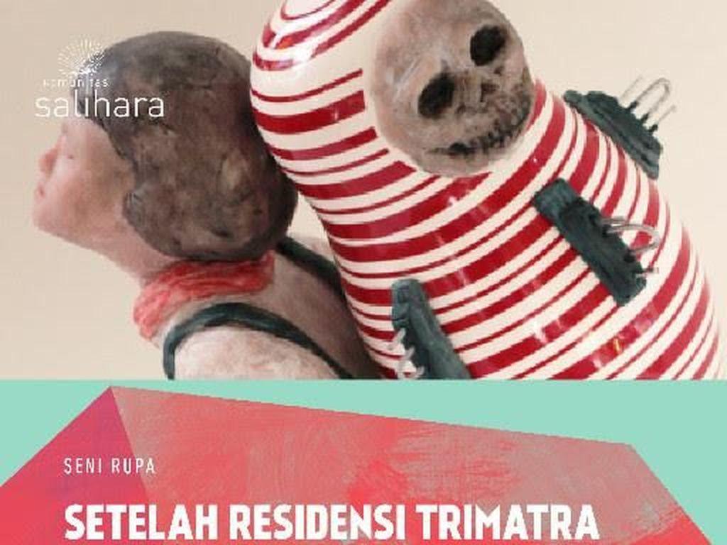 Pameran Seni Setelah Residensi Trimatra Tampilkan Karya 3 Perupa Muda