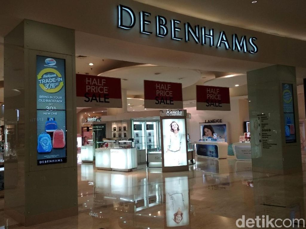 4 Dampak Debenhams-Topshop Tutup Toko dan Bangkrut