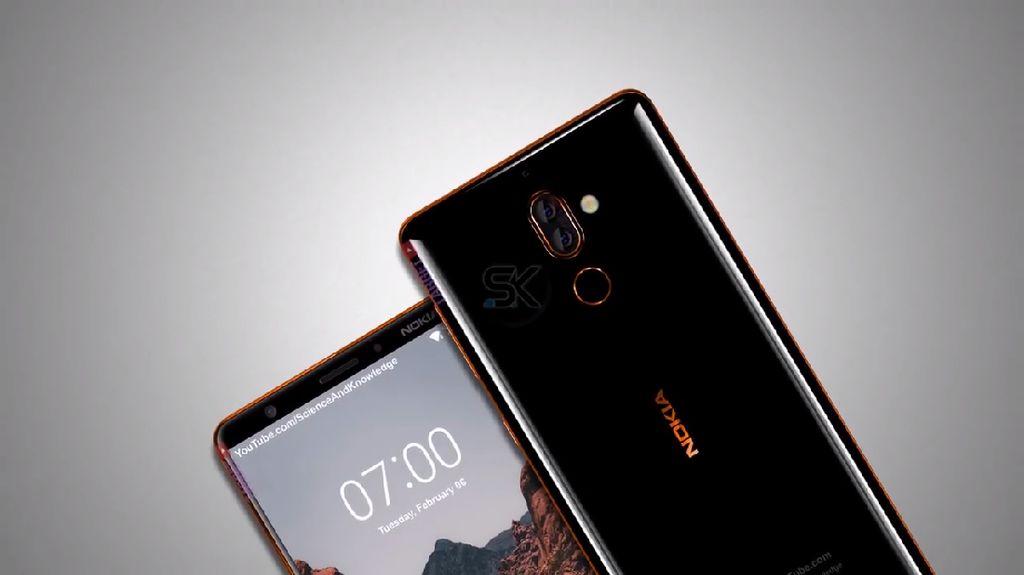Penampakan Nokia 7 Plus yang Makin Nyata