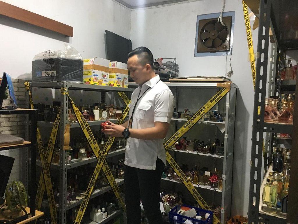 Pemilik Pabrik Parfum KW di Tamansari Tak Ditahan Polisi