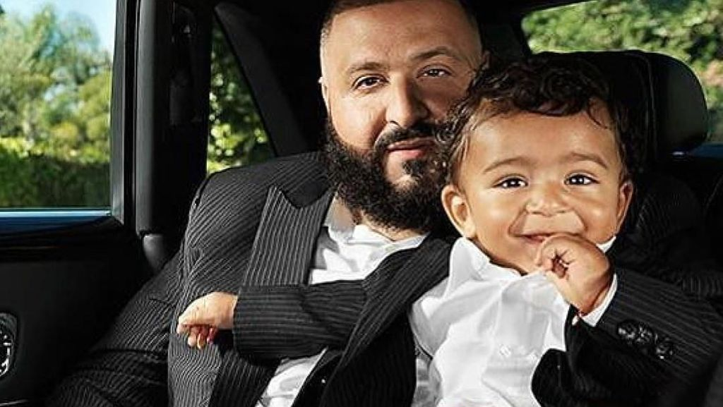Kemewahan Anak DJ Khaled, Umur Setahun Punya Mini Mercedes Hingga Jam Rp 1 M