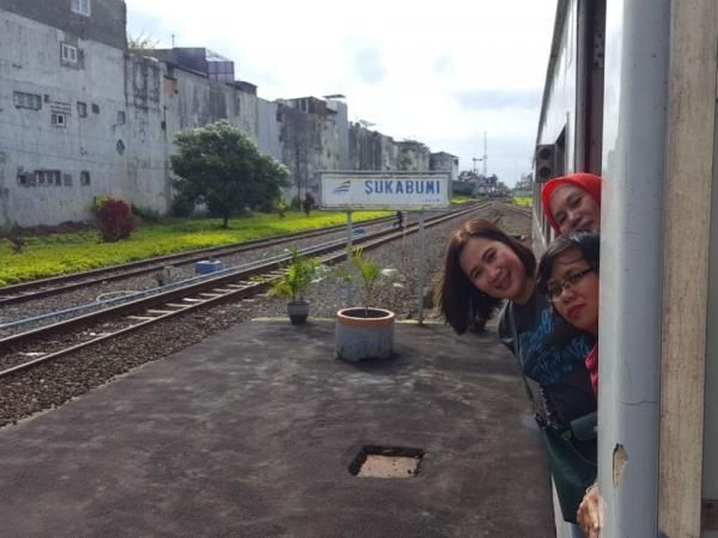 Ayo ke Sukabumi Naik Kereta!