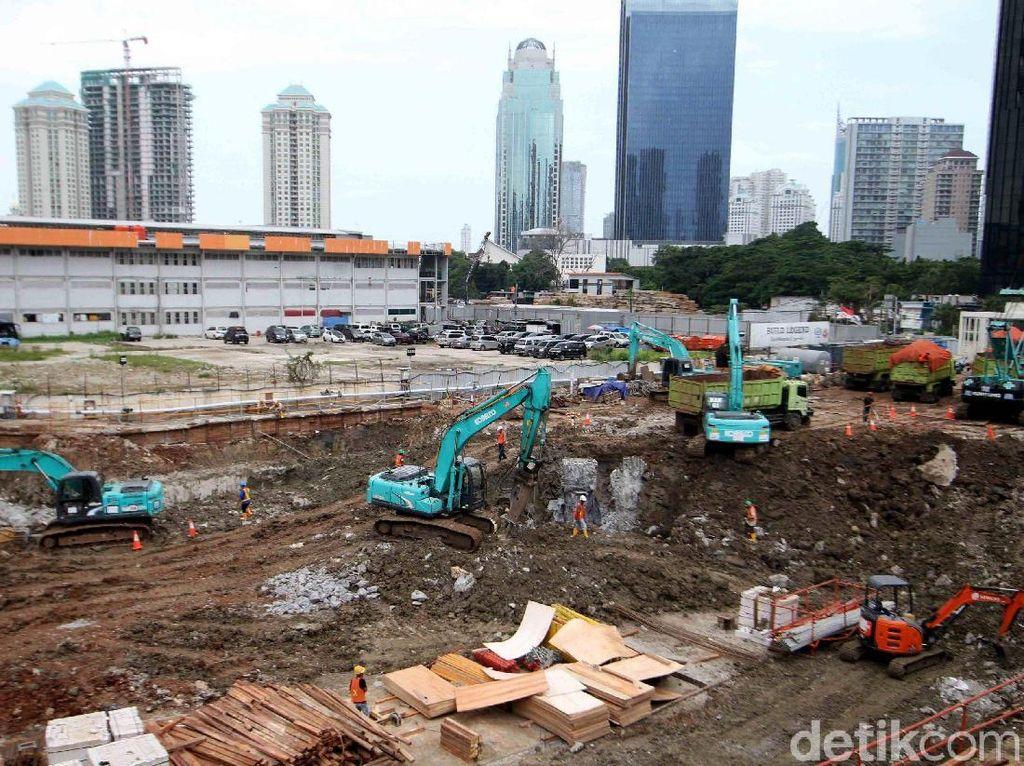 Terus Dikebut, Pembangunan Pasar Benhil Rampung 2019