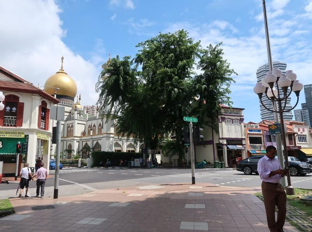 Foto: Cantiknya Kawasan Wisata Halal Singapura
