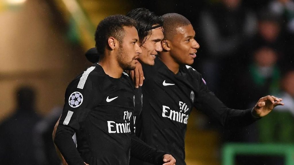 Foto: Trio Maut Sepakbola Eropa