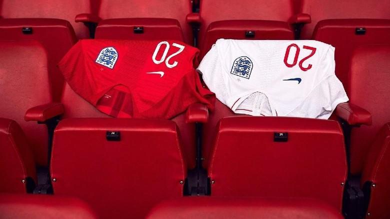 Klasiknya Jersey Timnas Inggris di Piala Dunia 2018