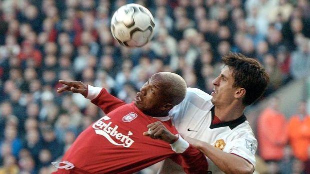 El Hadji Diouf hanya meraih satu gelar Piala Liga bersama Liverpool.