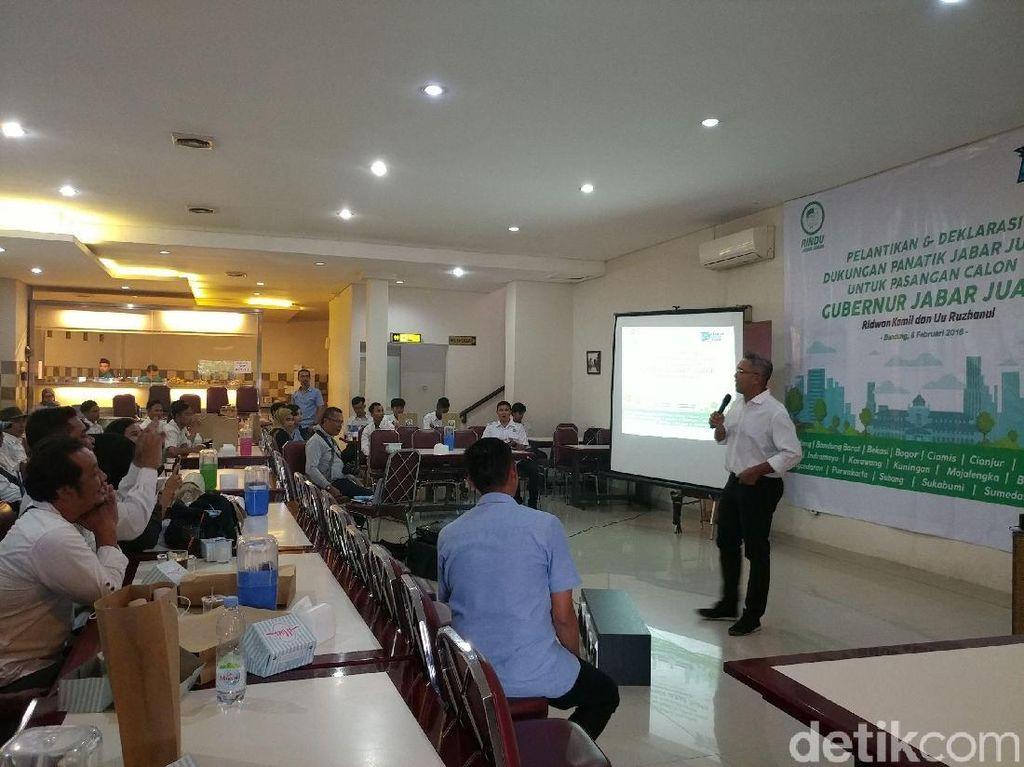 Pemuda Kreatif Dukung Ridwan Kamil-Uu Wujudkan Jabar Juara