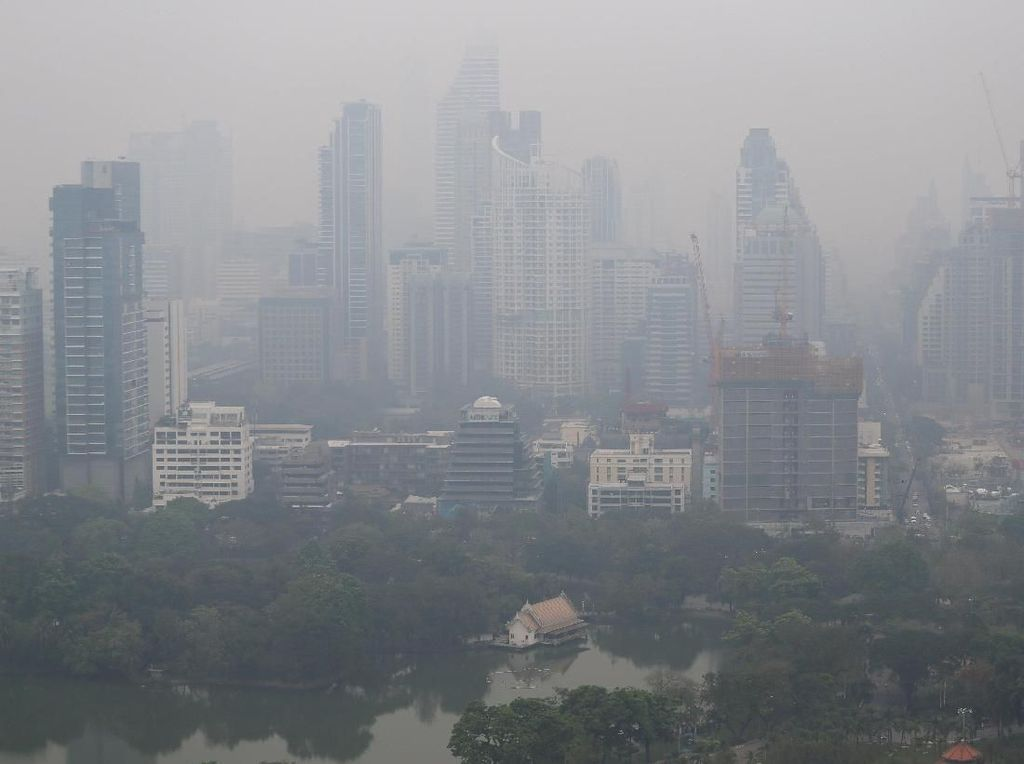 Polusi Udara di Bangkok Berbahaya, Anak-anak Dilarang Keluar