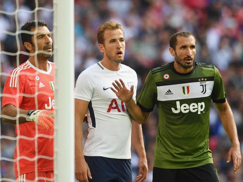 Jelang Juventus vs Spurs, Kane Kenang Tekel Pertama Chiellini