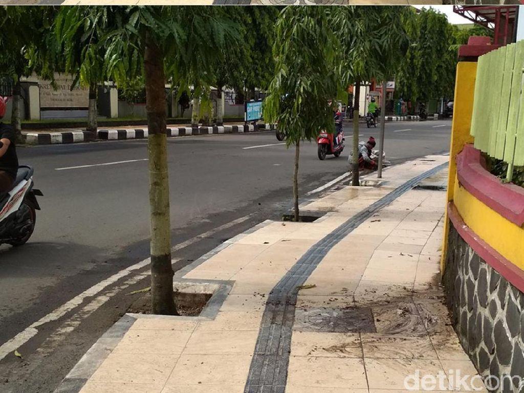 Masih Ingat Guiding Block Tabrak Pohon di Trenggalek, Ini Kondisinya