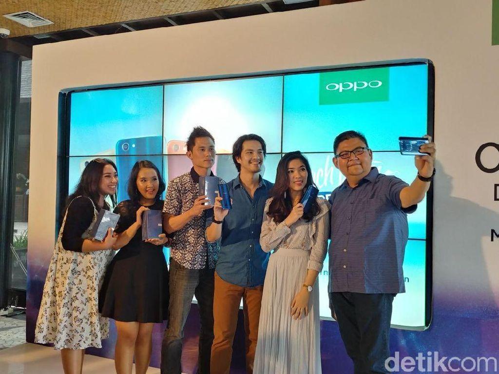 Oppo Optimis Diingat Konsumen dalam Hal Selfie Expert