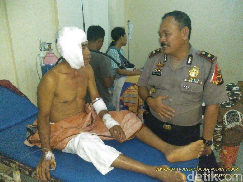 Polisi Buru Penyebar Hoax Ustaz Dianiaya Orang Gila di Bogor