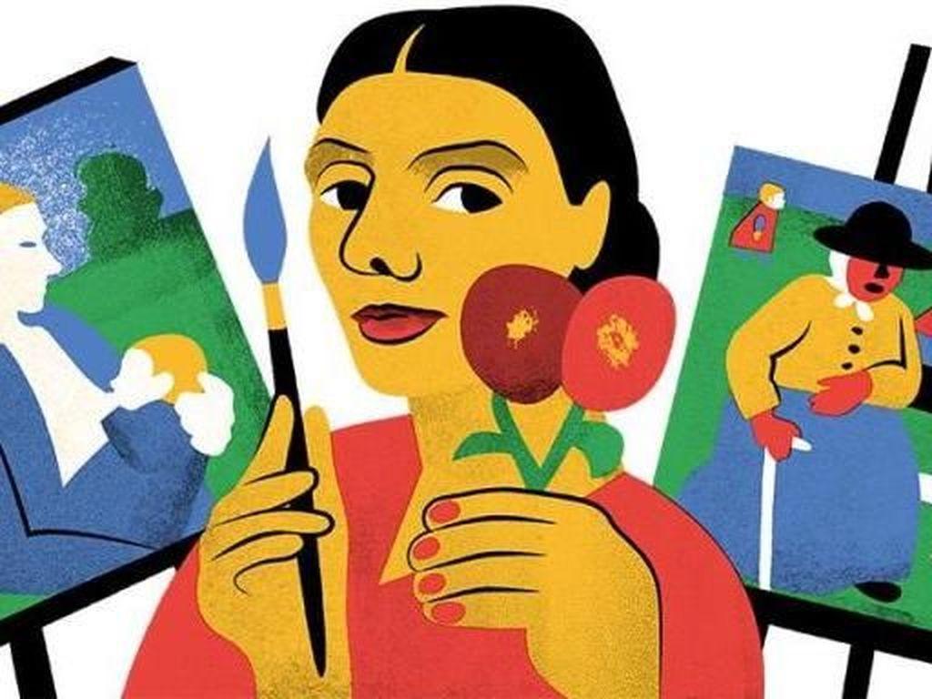 Lukisan Modersohn-Becker yang Kontroversial dan Jadi Google Doodle