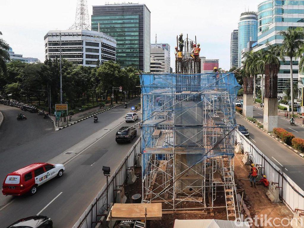 Kereta Layang Jakarta Bakal Punya 15 Sampai 20 Stasiun