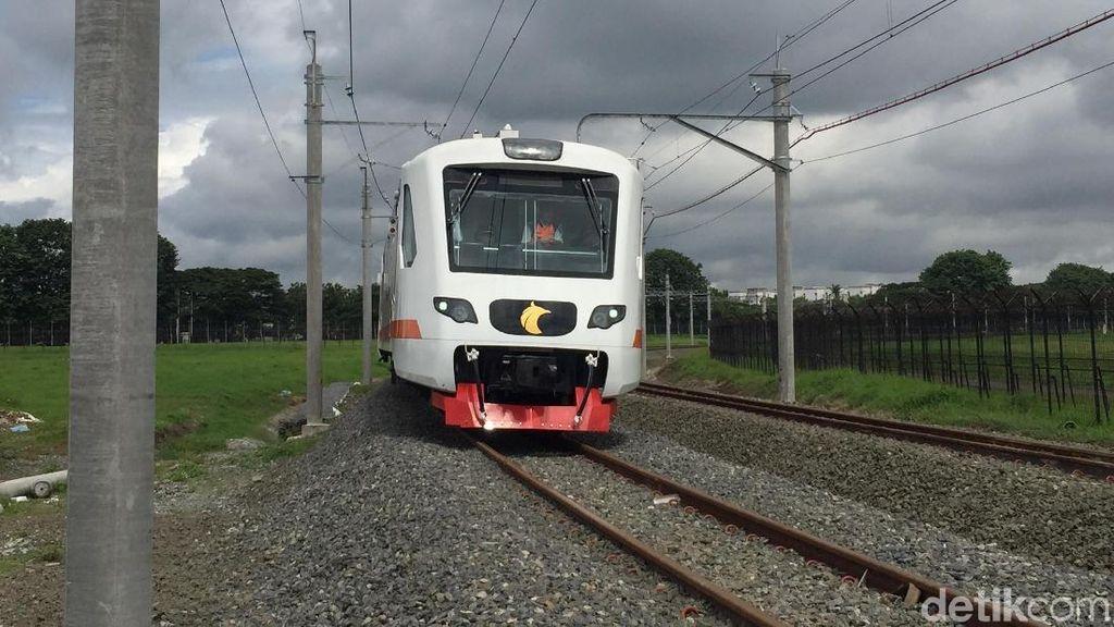 Foto: Melihat Kereta Bandara Soekarno-Hatta Beroperasi Lagi