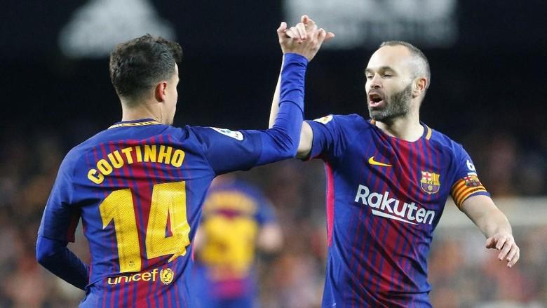 Barcelona Punya Banyak Bintang, Lebih Asyik untuk Coutinho