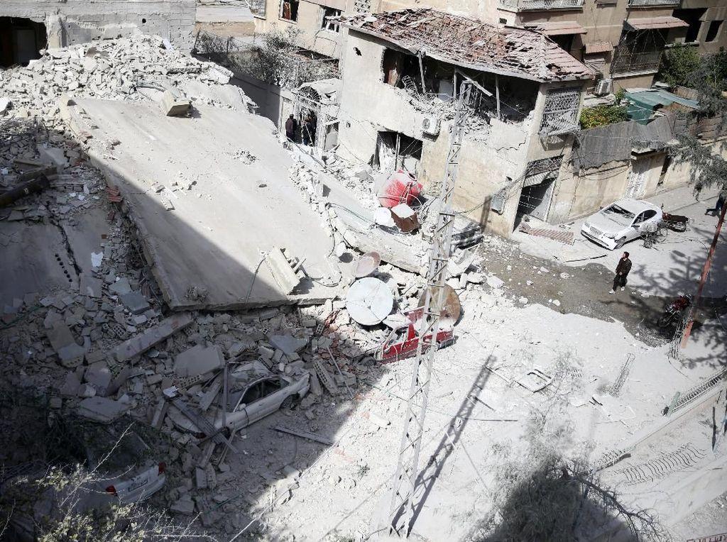 Jika Terjadi Serangan Kimia di Ghouta, Inggris Ikut AS Serang Suriah