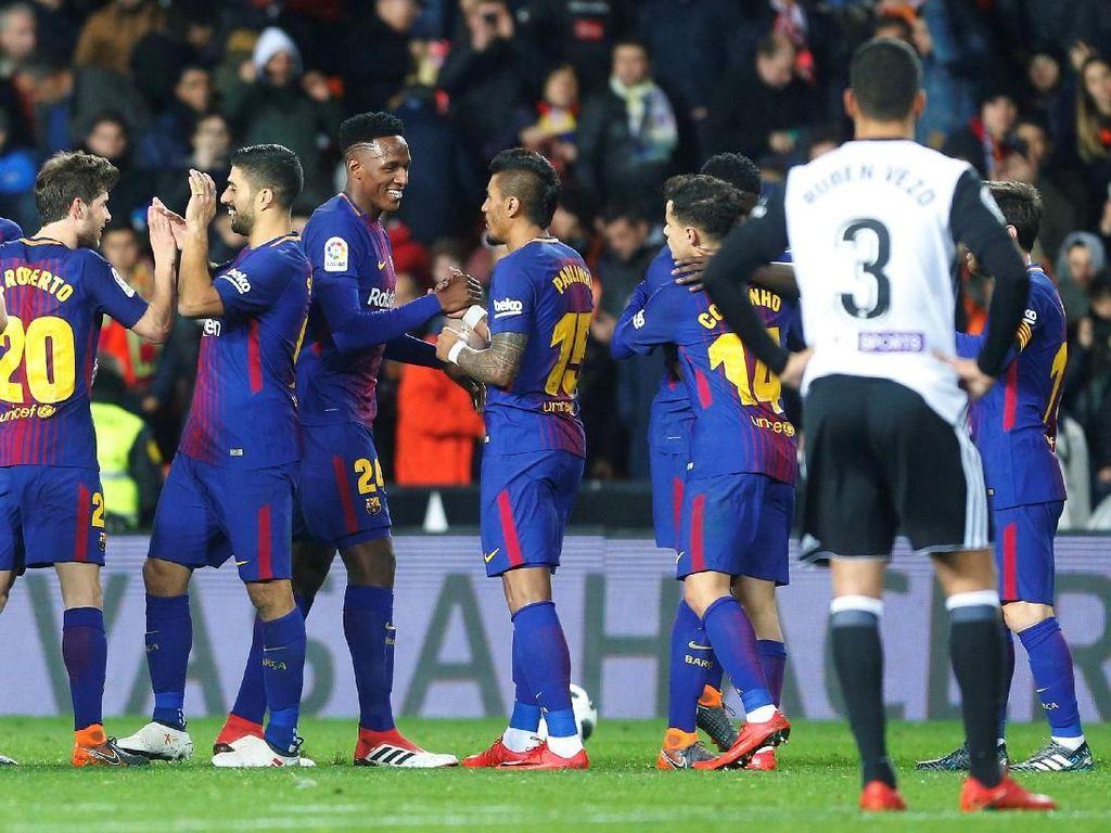 Barcelona Tak Terbendung ke Final Copa del Rey