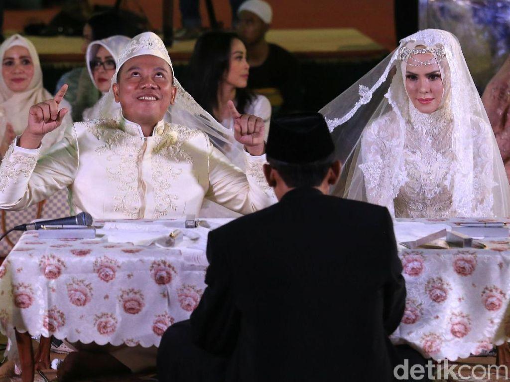 Pernikahan Vicky-Angel Dibilang Settingan, Ini Kata Eko Patrio