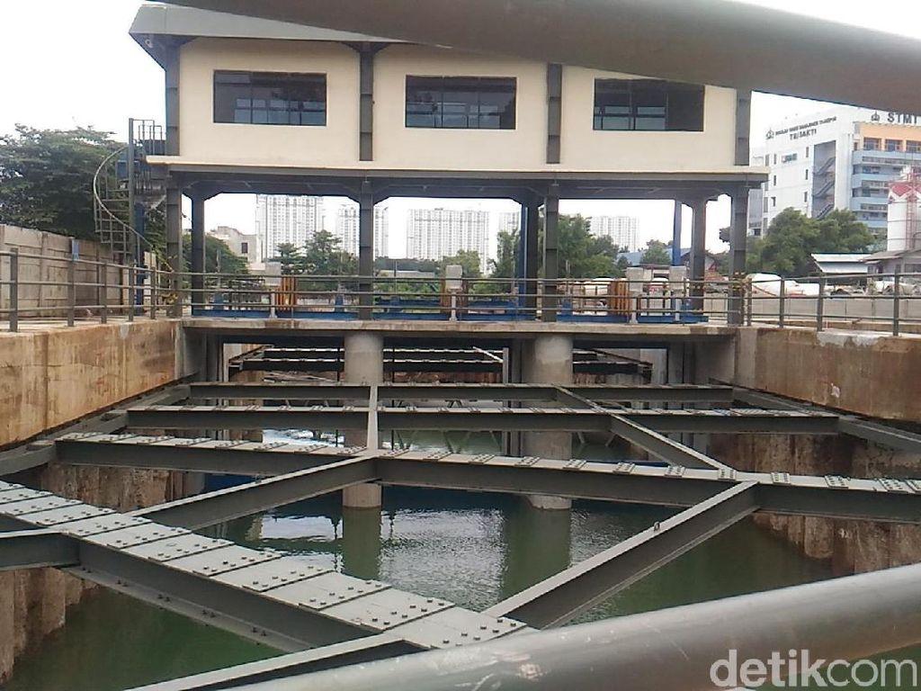 Potret Kanal Banjir Timur yang Bakal Jadi Limpahan Sodetan Ciliwung
