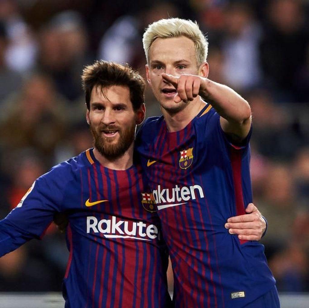 Rakitic: Messi Pemalu karena Tahu Jadi Pusat Perhatian