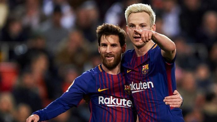 Ivan Rakitic berharap final Copa del Rey digelar di lokasi netral (Foto: Manuel Queimadelos Alonso/Getty Images)