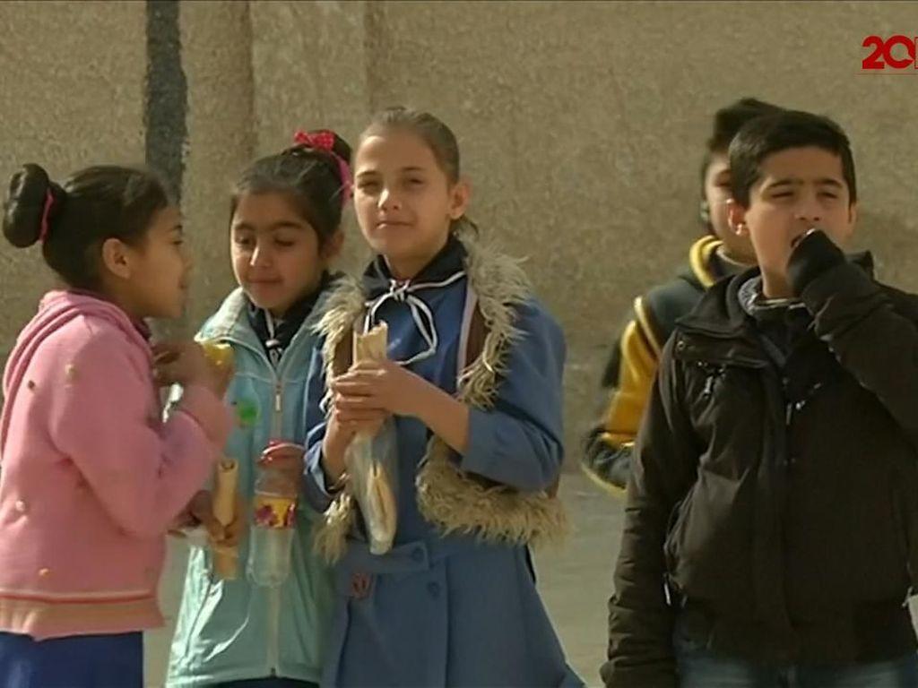 Anak-anak Jadi Korban Perang Suriah