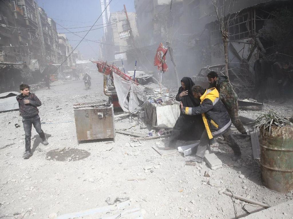 Assad Tegaskan Serangan di Ghouta Timur Akan Terus Berlanjut