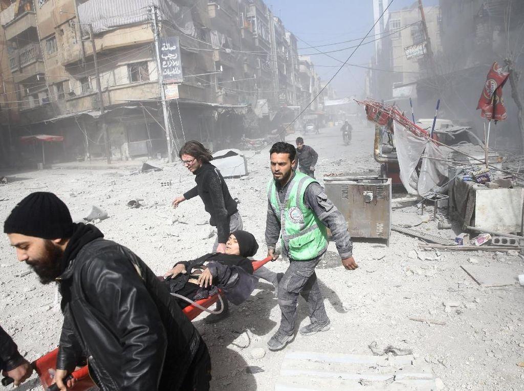 Konvoi Bantuan Kemanusiaan Tak Bisa ke Ghouta Timur, PBB Frustrasi