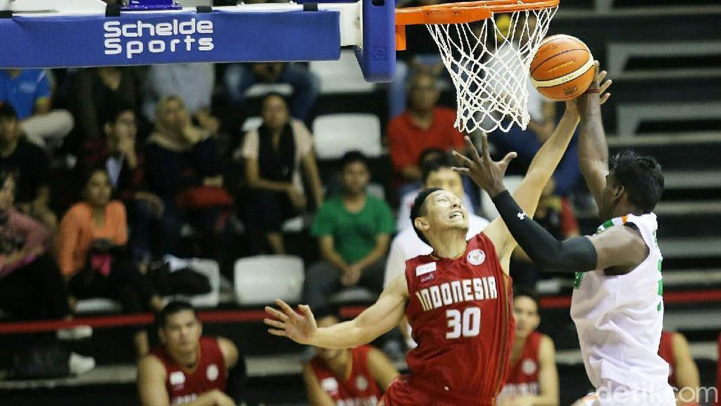 Tim Basket Indonesia Dikalahkan India
