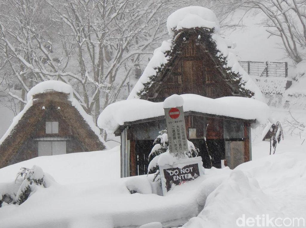 Foto: Seindah Ini Desa Salju di Jepang